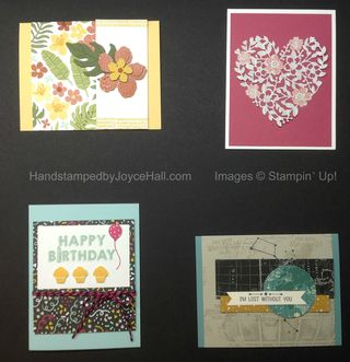 Occasions Catalog Sneak Peek Cards with Watermark