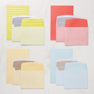 Tutti-frutti cards and Envelopes